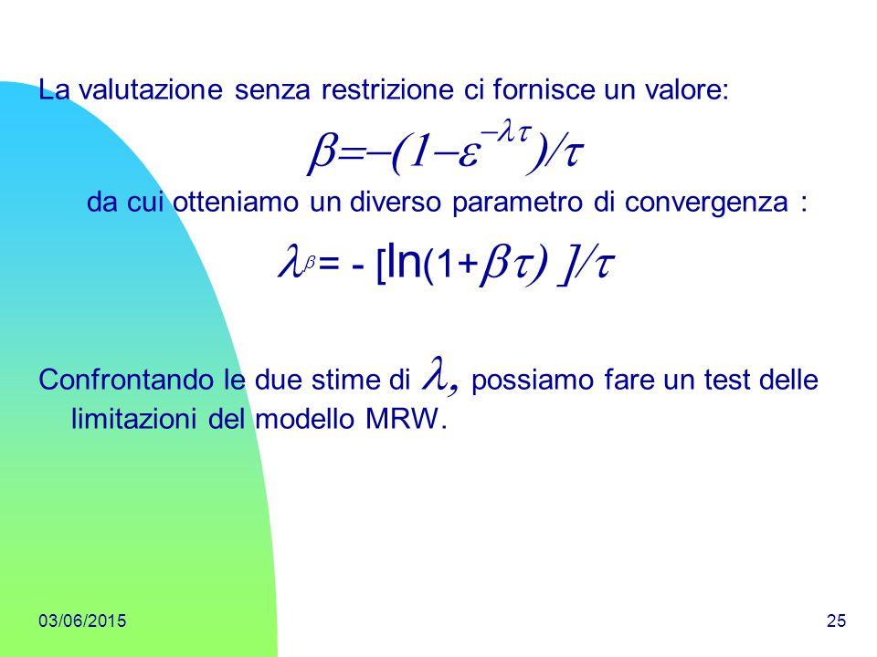 b=-(1-e-lt)/t lb = - [ln(1+bt) ]/t